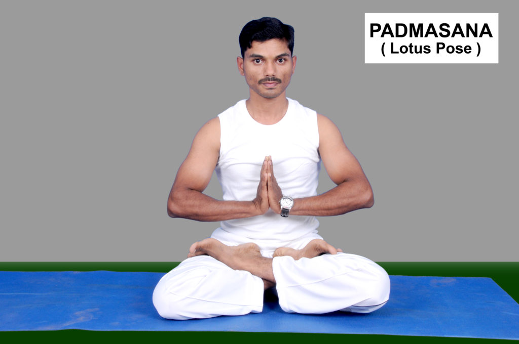 padmasana how to do