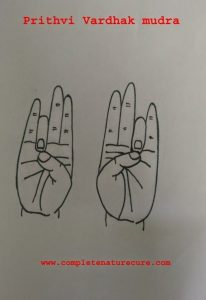Hand Yoga Mudra For Hair Growth