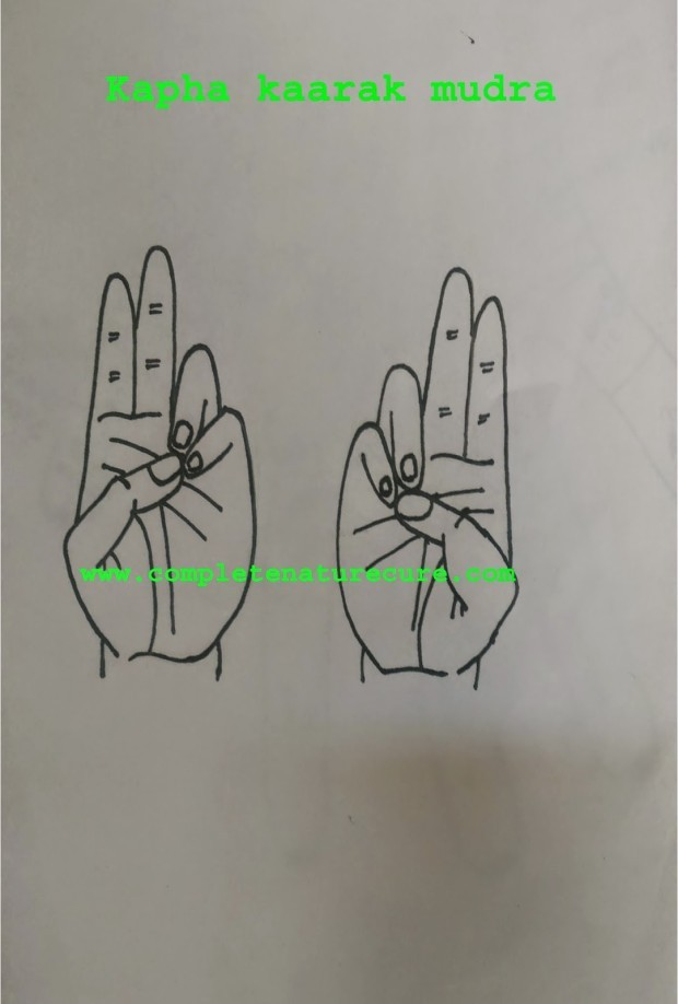 Mudras for hair loss