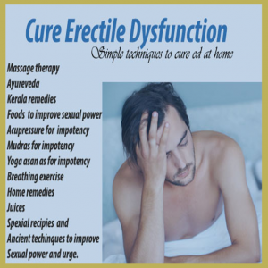 "Cure Erectile Dysfunction""My New Book"""
