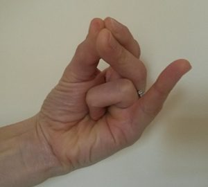 Yoga Mudra For headache and Migraine