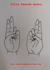 Mudras for indigestion