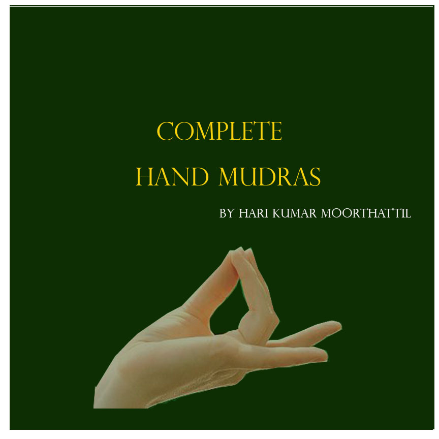 """My First E-book """"Complete Hand Mudras"""""""