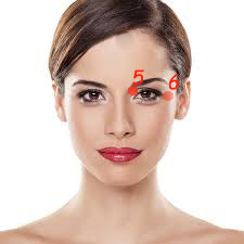 Acupressure points for healthy eyes